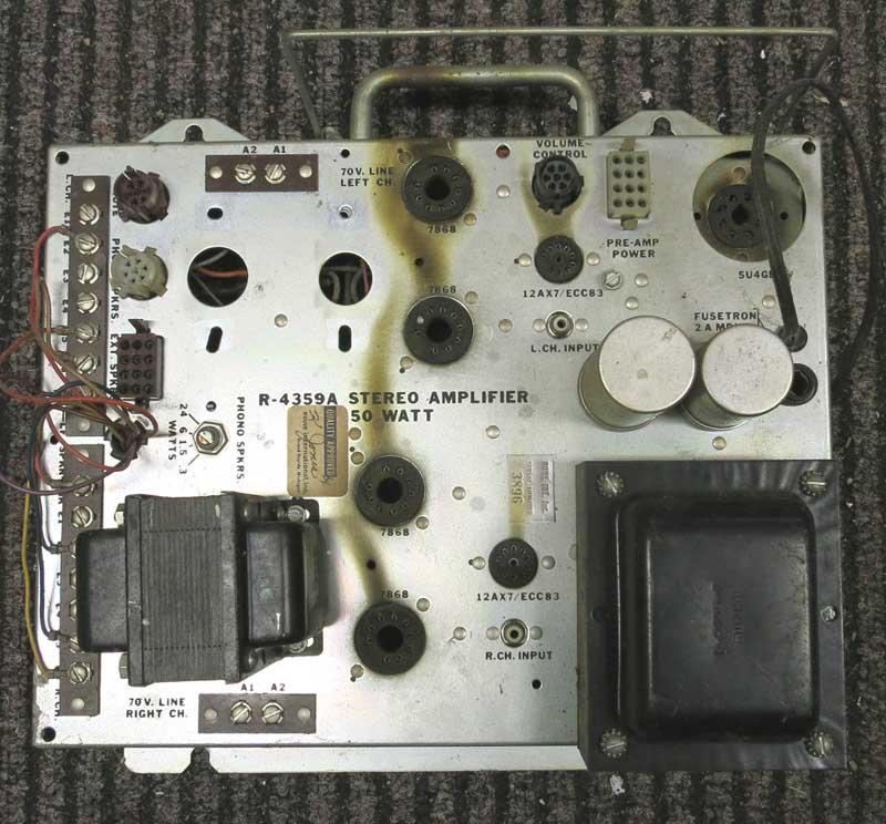 AMI Rowe 4359A Verstärker Amplifier