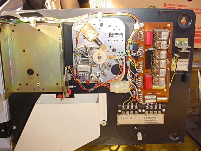 Fernwähler FW160 Deutsche Wurlitzer Wallbox - Copyright