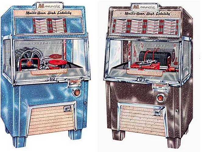 AMI Jukebox Musikbox F-40 F-80 F-120