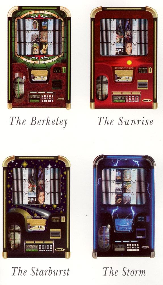 Rowe/AMI Berkeley, Storm, Sunrise, Starburst