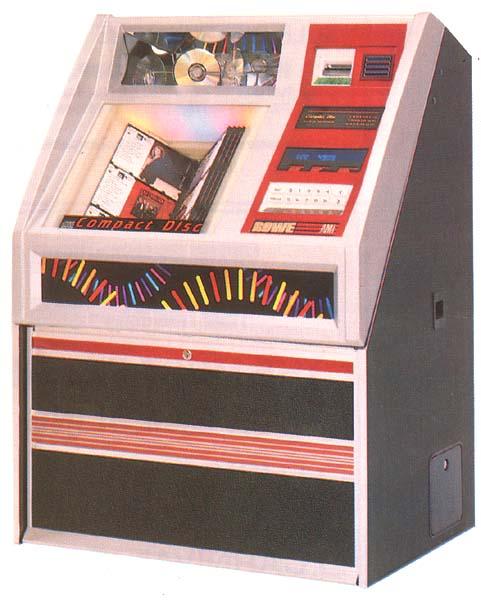 AMI ROWE Jukebox Musikbox CD51 Laser Star