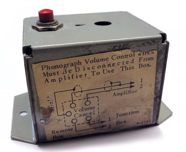 AMI Volume Control H-338