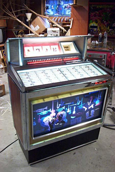 ROWE/AMI MM-1 Music Merchant Jukebox Phonograph