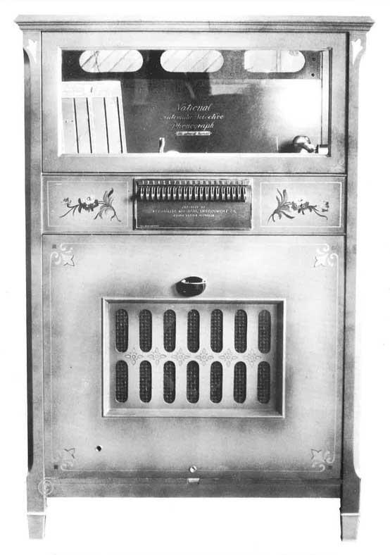 AMI National Automatic Selective Phonograph