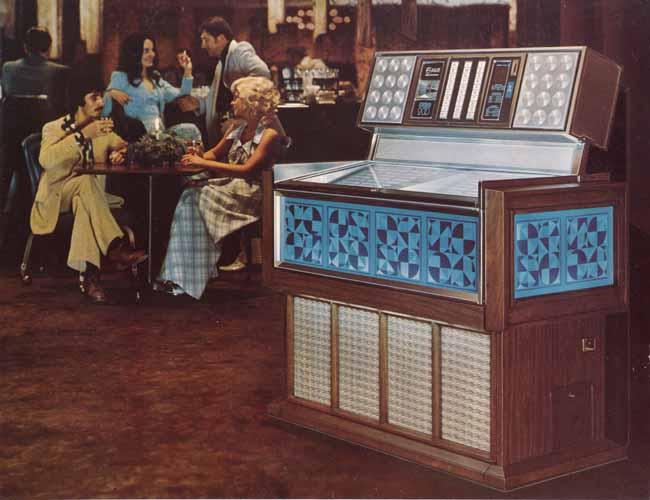 Rowe AMI Classic Arlington R-74 Jukebox Musikbox
