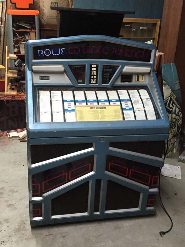 Rowe/AMI R-94 Jukebox Phonograph Musikbox