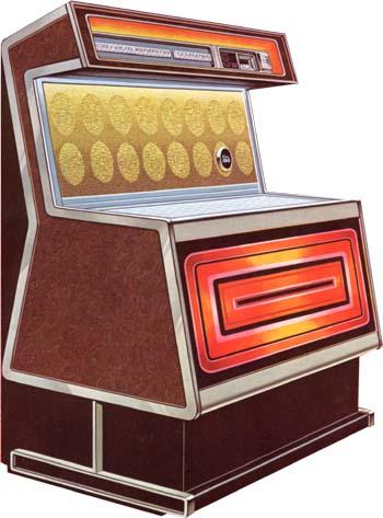 Rowe AMI TI-1 Deauville Jukebox Musikbox