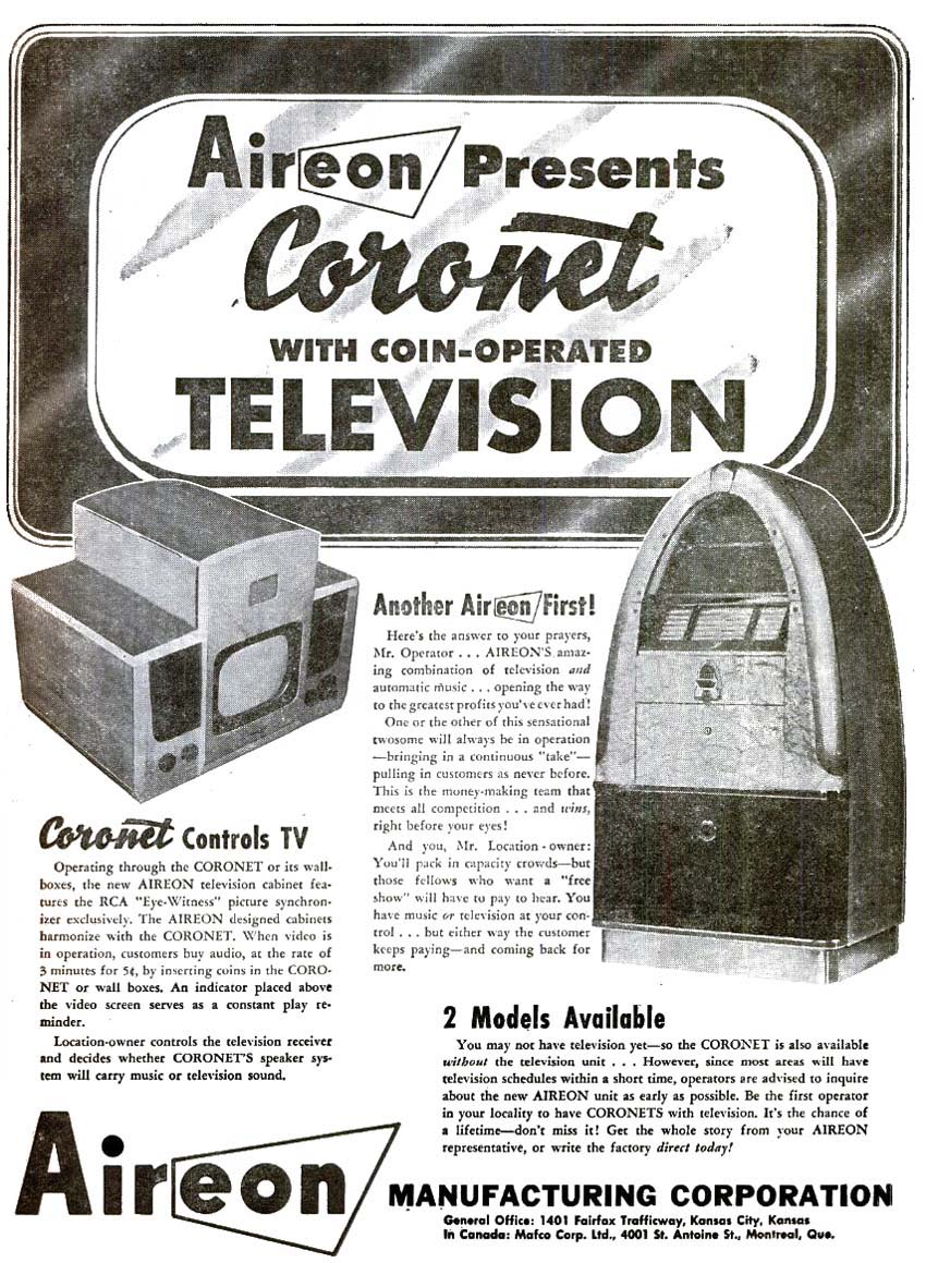 "Aireon 1209A - Coronet 400 ""Canned Ham"""
