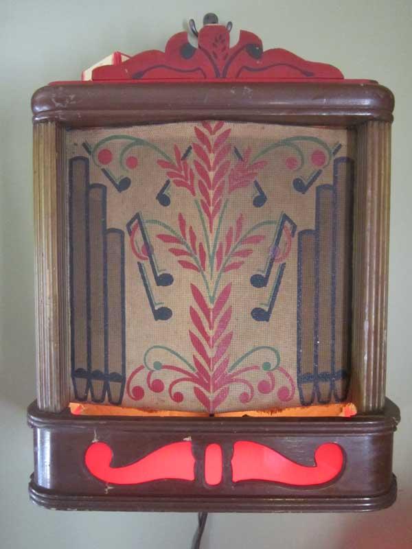 Kleertone Berman Music Box Wallbox Jukebox Musikbox