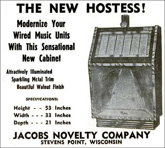 Jacobs Encore Telephone Music System