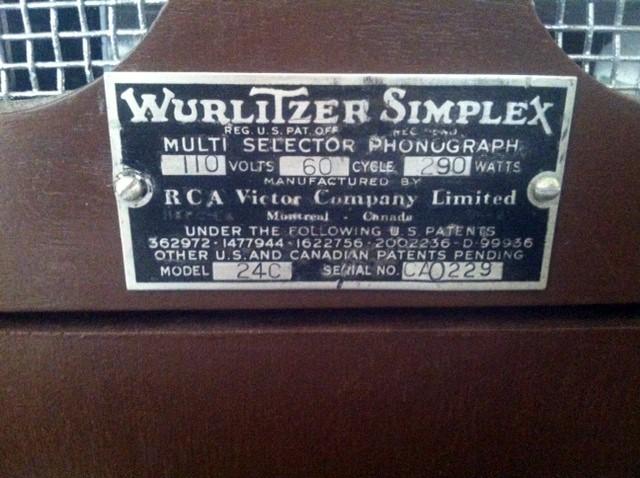 Wurlitzer 24C