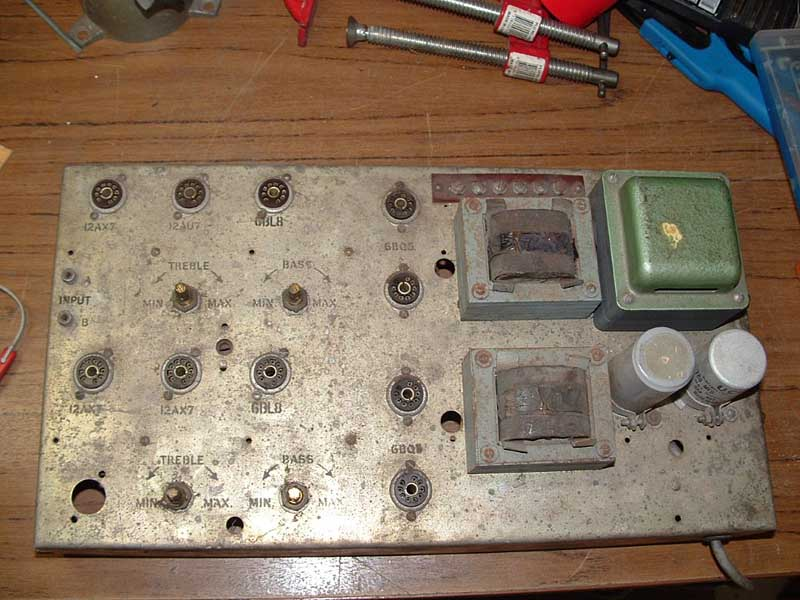Wurlitzer 2400 amplifier 538 Australia