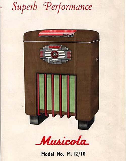 Wilding & Porter: Musicola M12-10