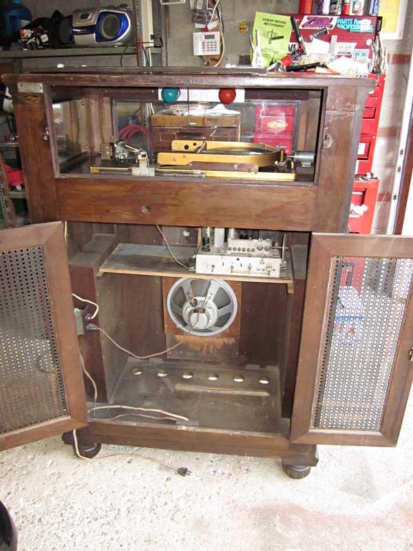 McLagan Phonograph 1926 Jukebox Musikbox Kanada Canada