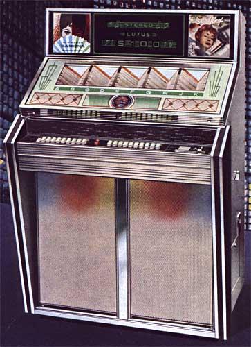 Jukebox Bergmann Musikbox Jukebox