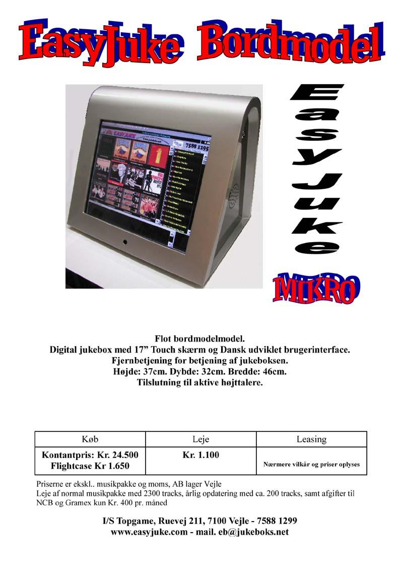 Easyjuke Jukebox denmark