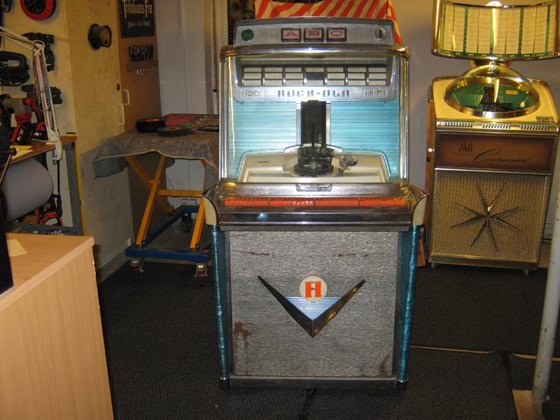 Nordisk Automat Service Rock-ola 1468 Juke Box