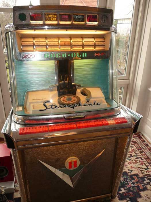 Nordisk Automat Service rock-ola 1475 Juke Box