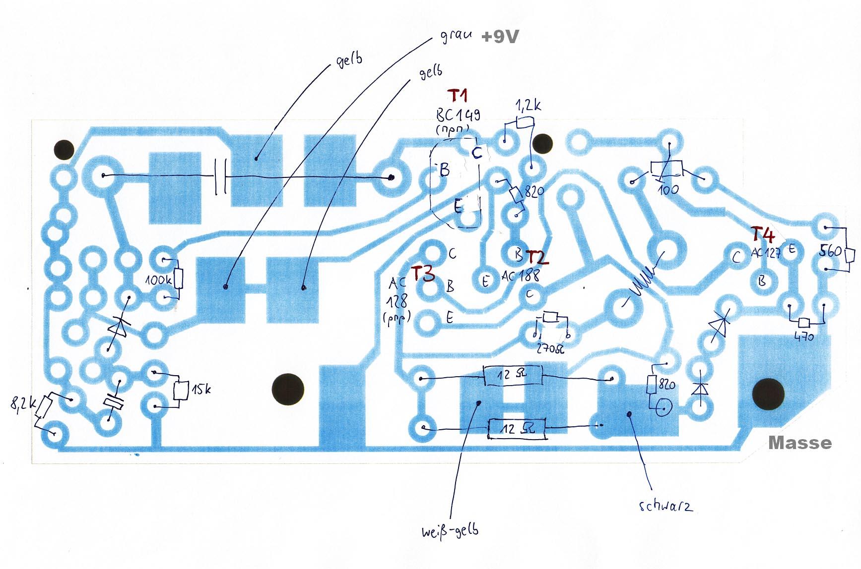 Cassettenbox C111 Carousel Wurlitzer