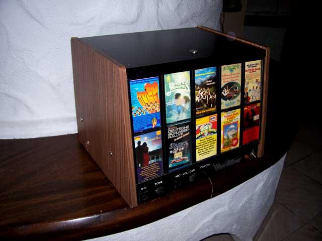 C115-3 Wurlitzer Kassettenbox Cassettenbox