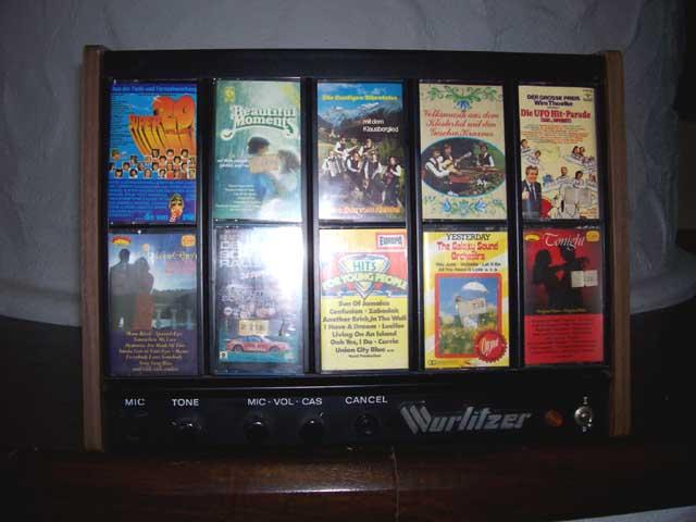 C115-L Wurlitzer Kassettenbox Cassettenbox