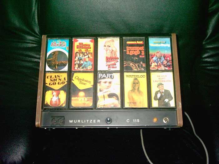 C 115 Wurlitzer Kassettenbox Cassettenbox