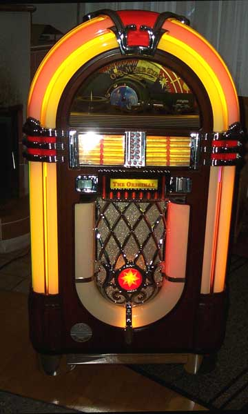 Omt Deutsche Wurlitzer Jukebox Musikbox Omt Vinyl Cd 1015