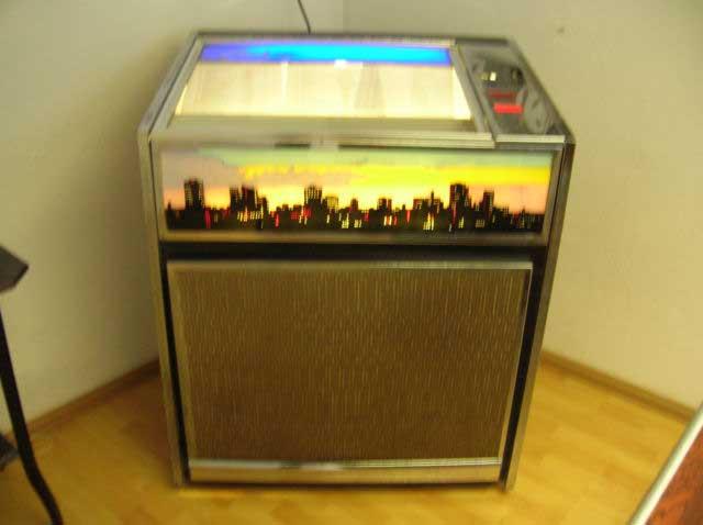 Chalwest jukebox Chantal Musikbox