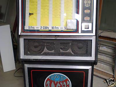 Elysee Vision Video Jukebox