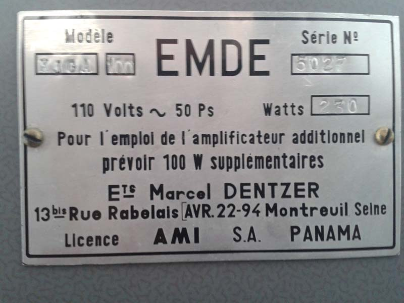 AMI Lyric EMDE Ets Marcel Dentzer