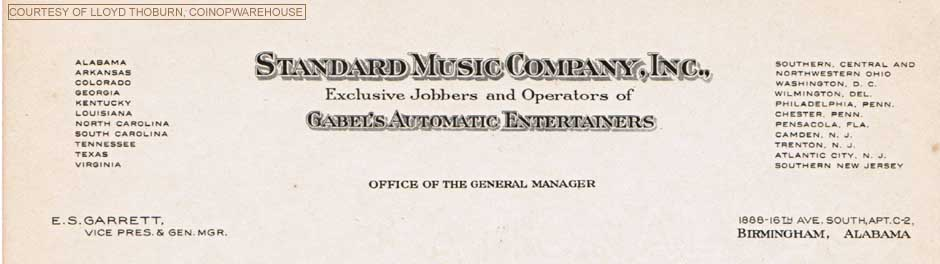 Gabel Letterhead Jukebox Musikbox