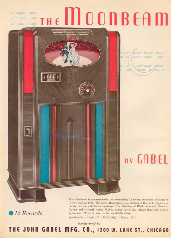 Gabel Jukebox Moonbeam