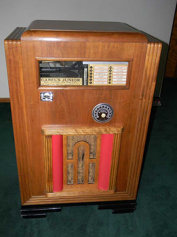 Gabel Jukebox Musikbox