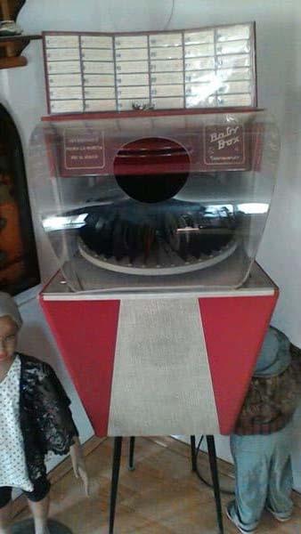 Baby Box Jukebox Musikbox Bonzini