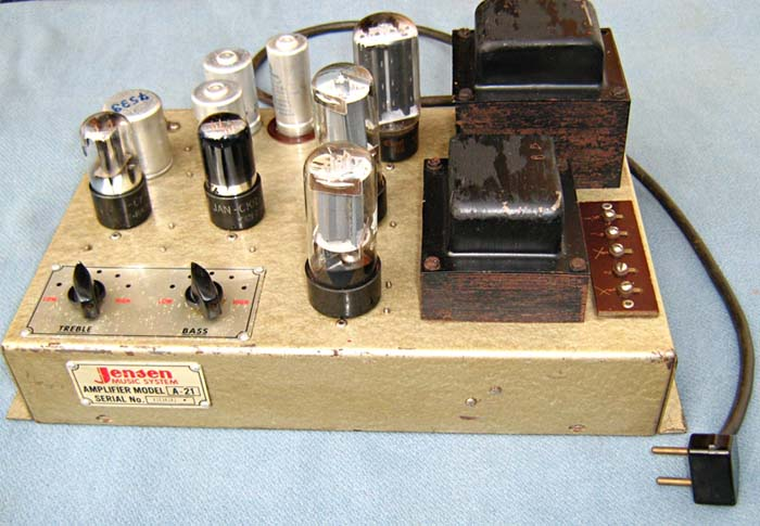 Jensen 120 amplifier A-21