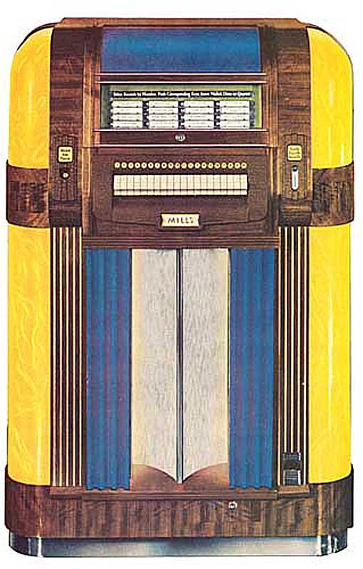 "Mills ""Throne of Music"""