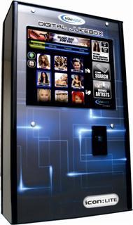 NSM Musikbox Icon wall mount jukebox