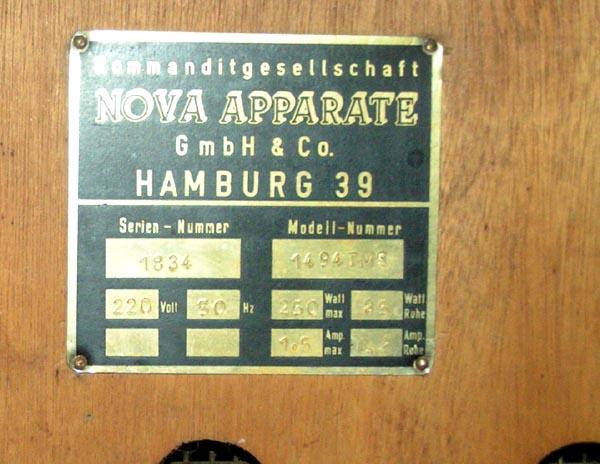 Nova 1494 TMS