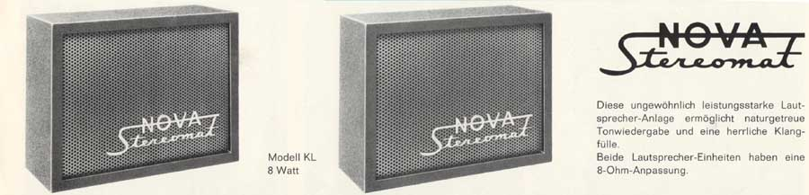 Nova Speaker stereo lautsprecher