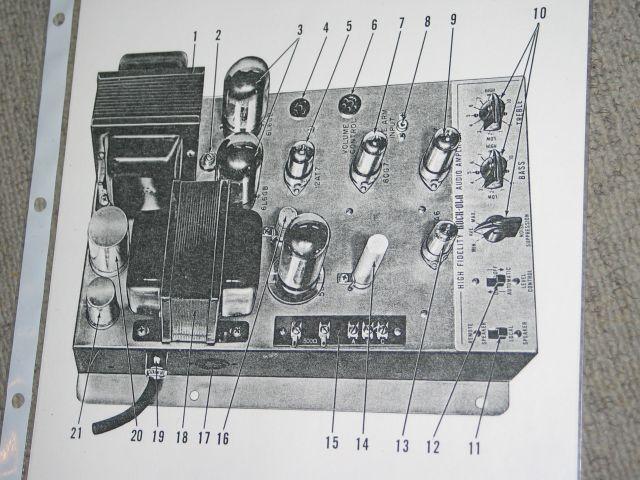 Rock-Ola 1455 Amplifier 30625