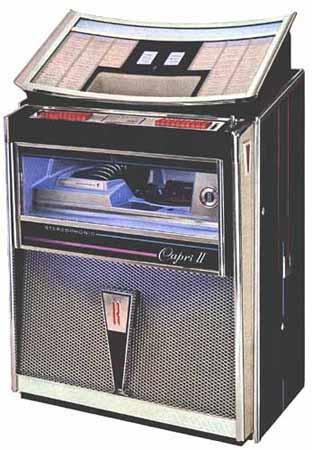 Rock Ola 414 Capri Ii Jukebox Musikbox Phonograph