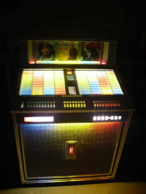 Jukebox rock ola gp 160 musikbox no wurlitzer seeburg spielautomat