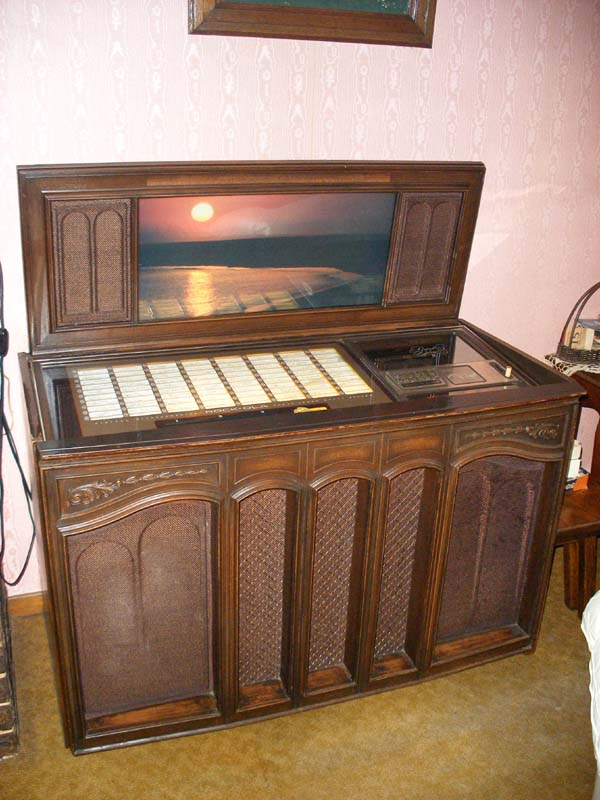 Rock Ola 476 Jukebox Grand Salon Musikbox