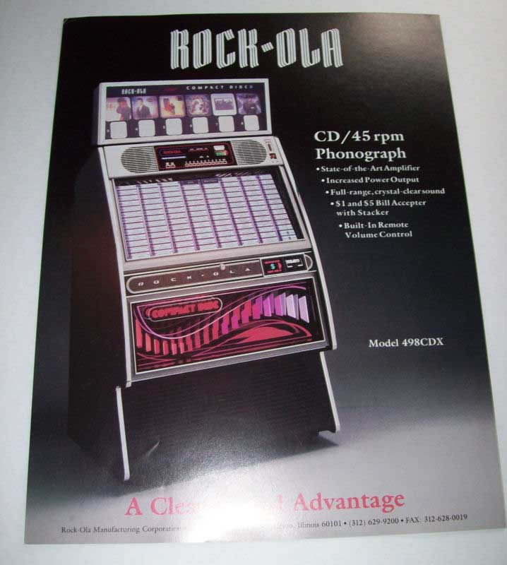 Rock Ola 494 Jukebox