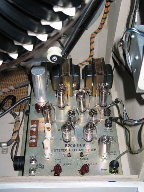 Amplifier Verstärker Rock-Ola tempo 1468 1475  33319-A
