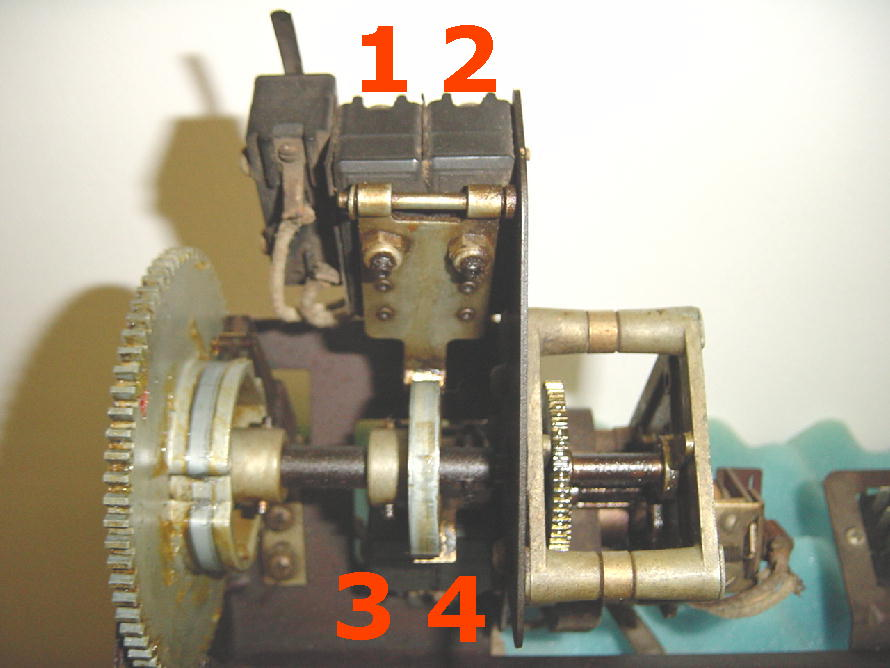 Rock-Ola 1454 Mikroschalter