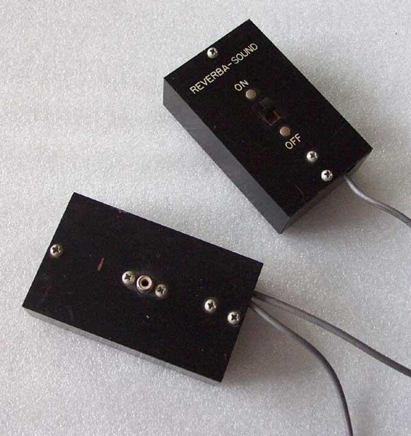 Regis Reverba Sound Remote Control
