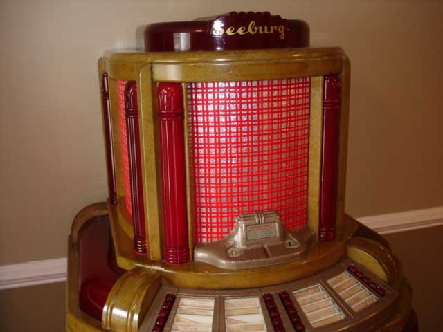 Seeburg Hitone Jukebox Musikbox 8200A