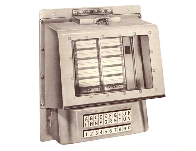 Seeburg AN/SNA-1 Jukebox Navy