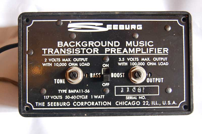 Seeburg Background Music system BMC-1
